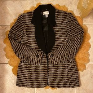 Christian Dior plaid blazer